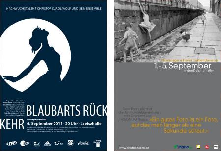 Plakate – Jan Bach und Philipp-Noel Richter
