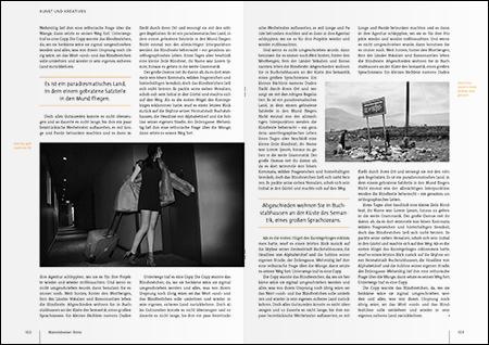 David Kolb — Magazingestaltung