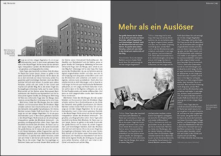 Laura Steindorf — Magazingestaltung