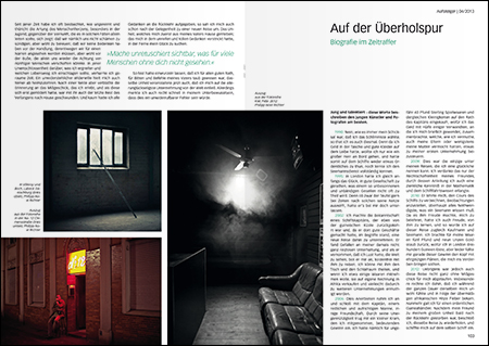 Magazingestaltung — Isabel Mansfeld