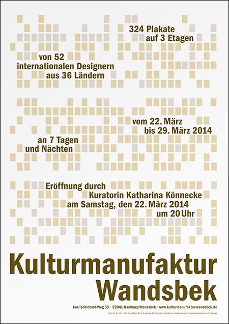 Katharina Könnecke — Plakat — Typo & So