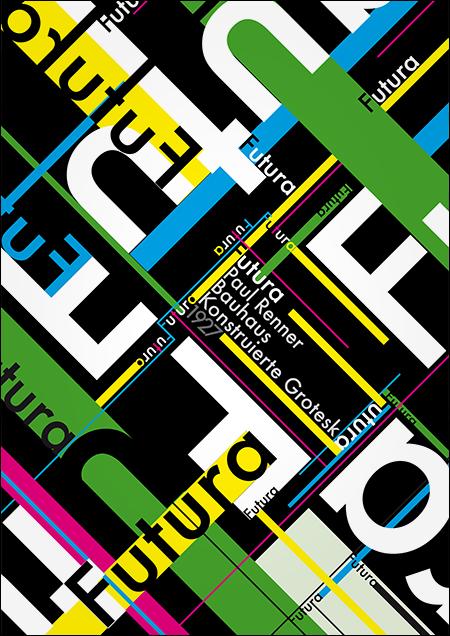 Typo-Textur von Christoph Szummy