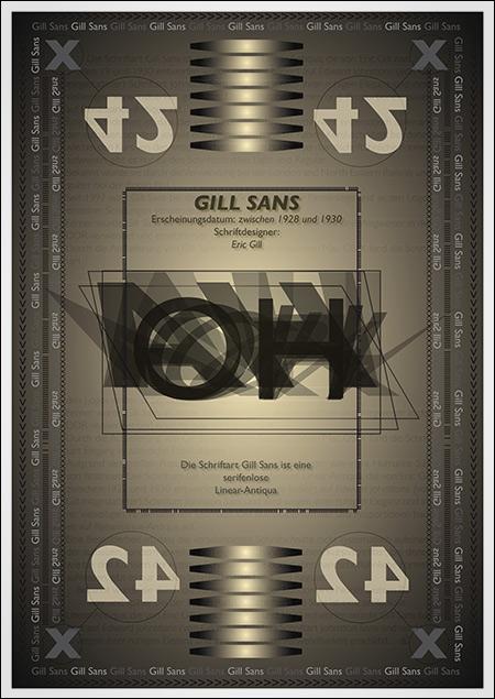 Typo-Textur von Dennis Kossowski