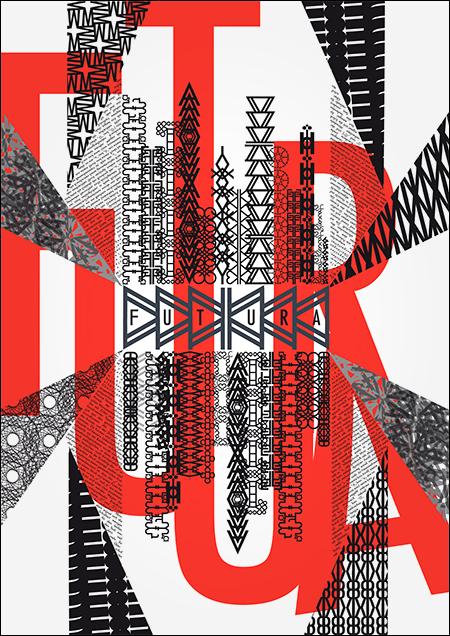 Typo-Textur von Jana Grabau