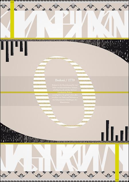 Typo-Textur von Michèle Ebert