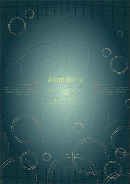 Typo-Textur von Regina Zienert